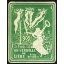 Liège 1905 Exposition Universelle (Var K - grün)