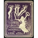 Liège 1905 Exposition Universelle (Var K - lila)