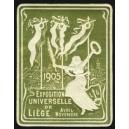 Liège 1905 Exposition Universelle (Var K - oliv)