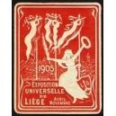 Liège 1905 Exposition Universelle (Var K - rot)