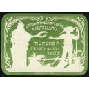 München 1906 Landwirtschaftliche Ausstellung (WK 01 - grün)