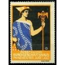 München 1913 Ausstellung Büro und Geschäftshaus (blau)