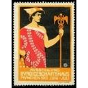München 1913 Ausstellung Büro und Geschäftshaus (rot)