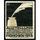 München 1913 Ausstellung Büro und Geschäftshaus (Tintenfass)