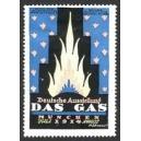 München 1914 Deutsche Ausstellung Das Gas (blau)