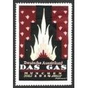 München 1914 Deutsche Ausstellung Das Gas (bordeaux)