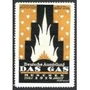 München 1914 Deutsche Ausstellung Das Gas (ocker)