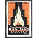 München 1914 Deutsche Ausstellung Das Gas (orange)