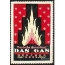 München 1914 Deutsche Ausstellung Das Gas (rot)