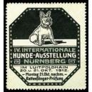 Nürnberg 1912 IV. Internationale Hunde-Ausstellung (Var A)