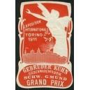 Torino 1911 Exposition Internationale Kühn Silberwaren (rot)