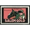 Salem Gold Cigarette, Dem Sieger eine (WK 04)