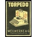 Torpedo für Reise und Büro ... Weilwerke AG Frankfurt (gelb)