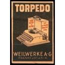 Torpedo für Reise und Büro ... Weilwerke AG Frankfurt (rosa)