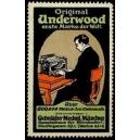 Underwood ... Gebrüder Meckel München (WK 01)