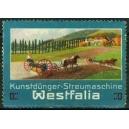 Westfalia Kunstdünger - Streumaschine
