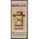 Köhler Die Beste Nähmaschinenfabrik Altenburg S.A. (WK 01)
