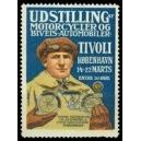 Kobenhavn 1914 Udstilling Motorcycler og Biveis-Automobiler