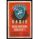 Herofon Radio Hede Nielsens Fabriker Kobenhavn (WK 01)