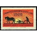 Karlsruhe 1924 Landwirtsch. Maschinen-Ausstellung