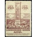 Lenzkircher Uhren Agul (violett)