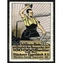 Münchener Eggenfabrik Jubiläums - Marke ... (WK 01)