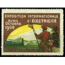 Marseille 1908 Exposition Internationale d'Electricité (braun)