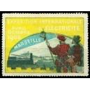 Marseille 1908 Exposition Internationale d'Electricité (gelb)