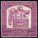 Malsch Fleischerei - Maschinen - Fabrik München (lila)