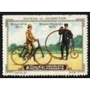 Kohler Serie IV No 02 Moyens de locomotion Bicyclette 1890