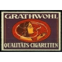 Grathwohl Qualitäts-Cigaretten (Frauenkopf - lila)