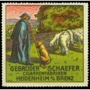Schaefer Cigarrenfabriken Heidenheim (WK 01)
