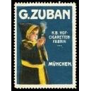 Zuban K. B. Hof - Cigaretten - Fabrik München (WK 01)