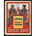 Engelsk - Dansk Biscuits Fabrik, China bedste Thekiks