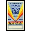 London Olympia Bicycle and Motor Cycle Show