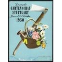 Stuttgart 1950 Deutsche Gartenschau (Grossformat)
