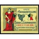 Wien 1908 Erste Fachausstellung der Schuh- und Lederindustrie