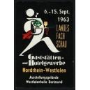 Dortmund 1963 Landes Fach Schau Gaststätten- und Hotelgewerbe