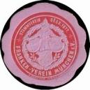 München, Franken Verein (rot auf rosa)