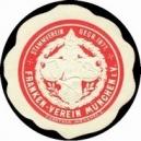 München, Franken Verein (rot auf weiss)