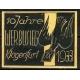 Klagenfurt 10 Jahre Werbusieg 1923/33 (Taube - gelb)