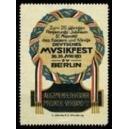 Berlin 1913 Musikfest