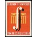 Berlin 1954 Festwochen (WK 01)