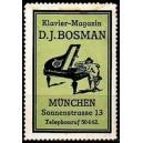Bosman Klavier - Magazin München (grün)