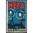 Nefa Lygter og Elementer (Bording 1127)