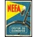 Nefa Lygter og Elementer (Bording 3183)