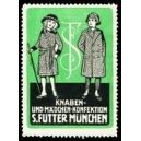 Futter München Knaben- und Mädchen - Konfektion (Var A - grün)