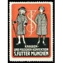 Futter München Knaben- und Mädchen - Konfektion (Var A - rot)