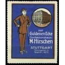 Hirschen Confektionshaus Stuttgart ... (blau)