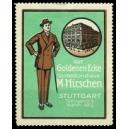 Hirschen Confektionshaus Stuttgart ... (grün)